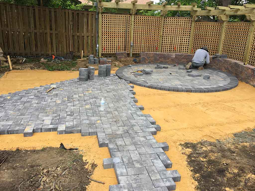 how-to-install-pavers-a1-landscaping-services